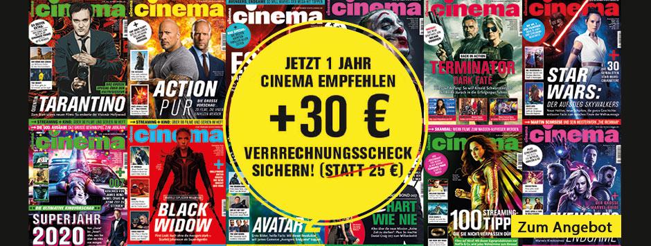 CINEMA - LWL 30 € Verrechnungsscheck