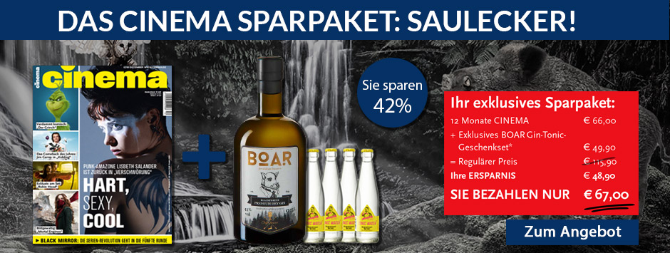 CINEMA - Sparpaket Boar Gin!