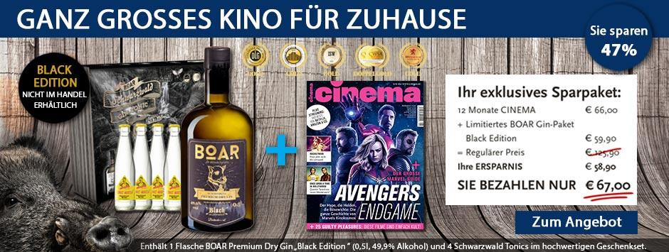 CINEMA - Sparpaket Boar Gin!