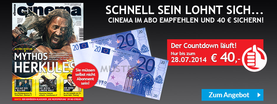 CINEMA Countdown Juli 2014