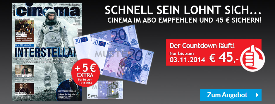CINEMA Countdown Oktober 2014