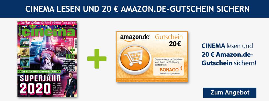 CINEMA - Jahreabo 20€ Amazon Gutschein