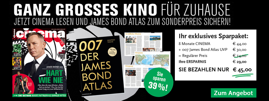 CINEMA - Sparpaket James Bond Atlas