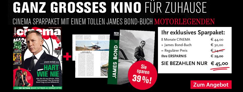 CINEMA - Special Sparpaket James Bond Motorlegenden