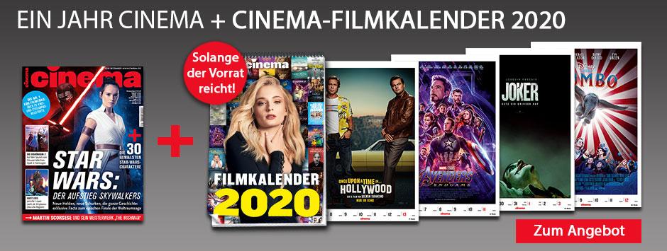 CINEMA - Filmkalender 2020