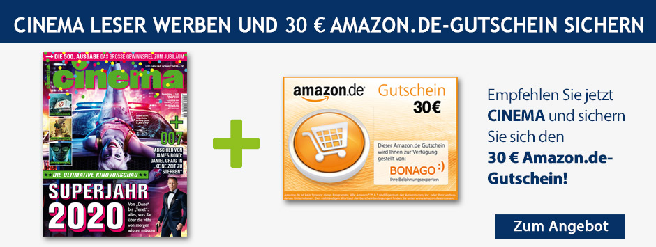 CINEMA - LWL 30 € Amazon Gutschein