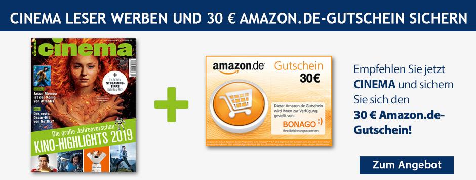 CINEMA - LWL 30 € Amazon Gutschein