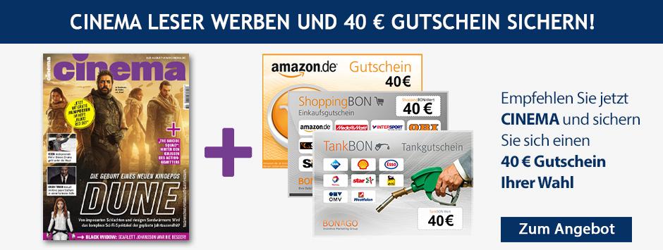 CINEMA - LWL 40 € Gutschein