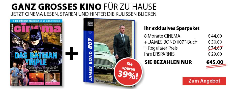 CINEMA - Sparpaket JAMES BOND Buch