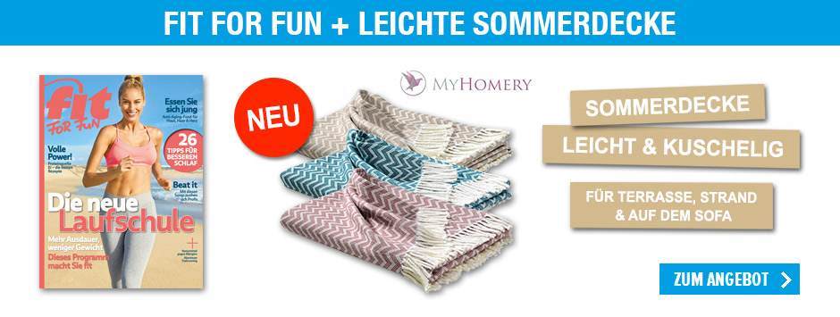 FIT FOR FUN - myHomery Sommerdecke