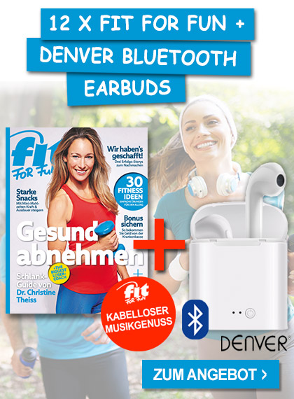 FIT FOR FUN - Sparpaket Denver Earbods