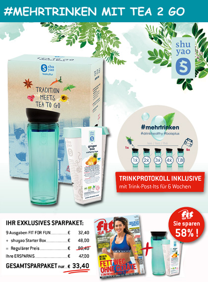 FIT FOR FUN - Sparpaket Tea 2 go