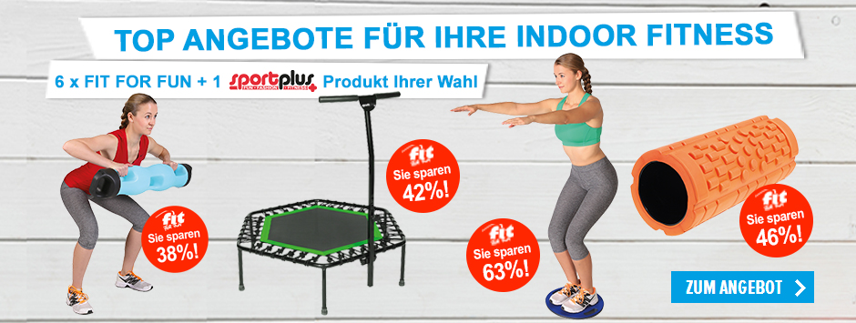 FIT FOR FUN Top-Angebote INDOOR FITNESS