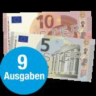 15 € Scheck