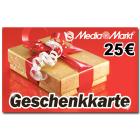 25 EUR Media Markt-Gutschein