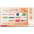 25 EUR ShoppingBon