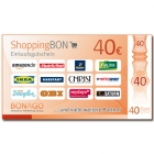 40 Euro ShoppingBON