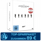 James Bond DVD Collection 2015
