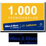 1.000 Miles & More Prämienmeilen
