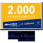 2.000 Miles & More Prämienmeilen