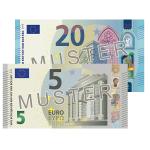 Verrechnungsscheck 25 EUR