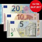 35 € Verrechnungsscheck