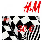 30 EUR H&M-Gutschein