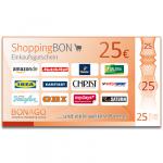 25 EUR ShoppingBon