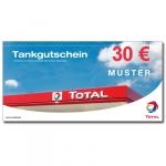 Tank-Gutscheine TOTAL- 30 EUR