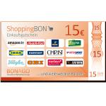 15 € ShoppingBON