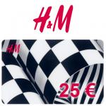 25 EUR H&M-Gutschein