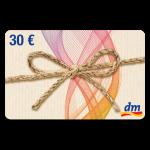 30 EUR dm-Gutschein