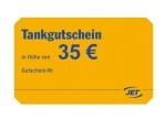35 Euro JET-Tankgutschein