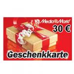 30 EUR Media Markt-Gutschein