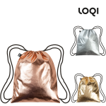 LOQI Backpack Metallic
