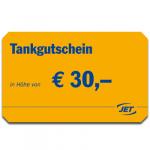 Tank-Gutscheine JET - 30 EUR