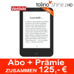 e-Reader tolino shine 2 HD