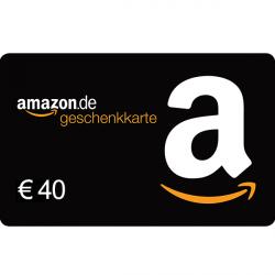 Amazon Gutschein 40 Euro
