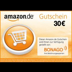30 € Amazon.de-Gutschein