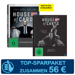 House of Cards Season 1 + 2