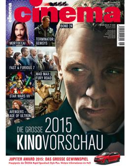 CINEMA - aktuelle Ausgabe 01/2015