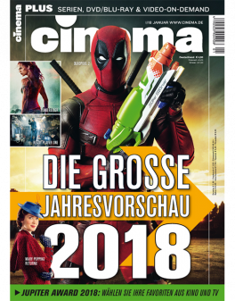 CINEMA - aktuelle Ausgabe 01/2018