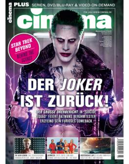 CINEMA - aktuelle Ausgabe 07/2016