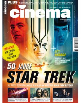 CINEMA - aktuelle Ausgabe 08/2016