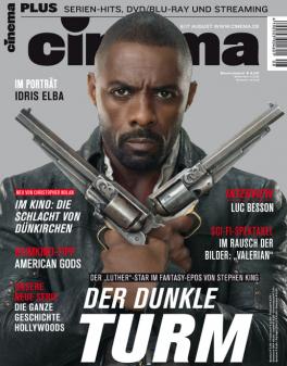 CINEMA - aktuelle Ausgabe 08/2017