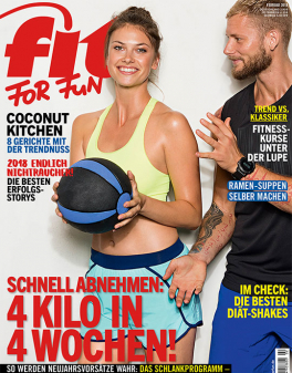FIT FOR FUN - aktuelle Ausgabe 02/2018