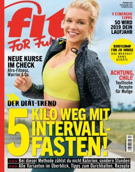 FIT FOR FUN - aktuelle Ausgabe 02/2019