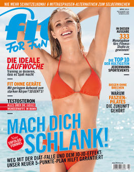 FIT FOR FUN - aktuelle Ausgabe 02/2014