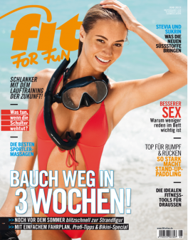 FIT FOR FUN - aktuelle Ausgabe 06/2013