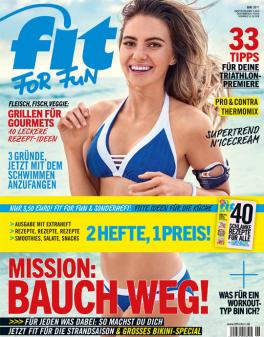 FIT FOR FUN - aktuelle Ausgabe 06/2017